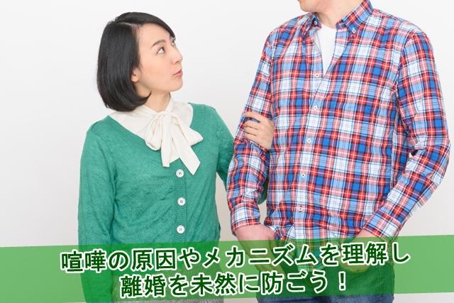 喧嘩の原因やメカニズムを理解し離婚を未然に防ぐ